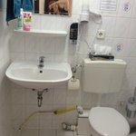 Das elektrische WC war furchtbar laut, auch wenn in anderen Zimmern gespült wurde!