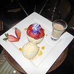 A wonderful home made dessert.