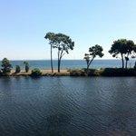 vue chambre lac et mer