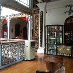 Upstairs area @peranakan mansion Penang