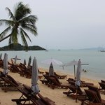 Beach side at Bandara