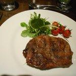 Rib eyed steak