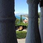 vista dall'hotel santa lucia parghelia