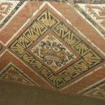 Mosaics still intact