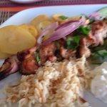 Chicken souvlaki - lovely