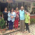 Nimmi Aunty Viju uncle with us