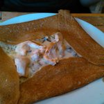 crèpe forestière (poulet+champignon+bechamel)