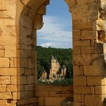 Chateau de Laussel (across the valley)