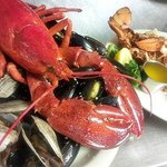 A Maine Shore Dinner and Baked Stuffed Lobster