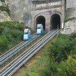Entrée sous la Falaise.