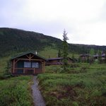 Cabin, Bathhouse & Part of Dining/Main Lodge