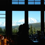 View of Denali from Dining Room