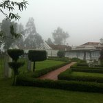 Savoy Hotel Ooty on a misty afternoon