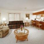 Jacuzzi Suite Living Room