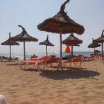 spiaggia vicina all'hotel