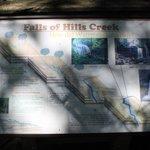 Falls of Hills Creek map