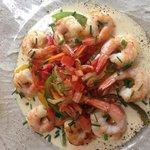 Poêlé de crevettes aux légumes croquants un vrai délice