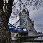 Vista da frontedella torre di Londra
