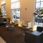 Lobby continued...cozy seating area