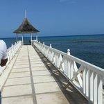 Pier with gazebo