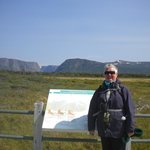 that gap, 3 Km, in the distance is the start of Western Brook Pond and the boat trip to the base