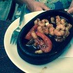 Fried shrimp starter. Great quality food