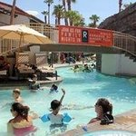 The lazy river. Go on the weekdays to avoid the crowds.