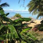 Vista dall'accesso spiaggia