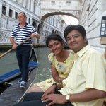 Enjoying the Gondola Ride