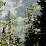 Wolfgruber vanaf de Panoramaweg