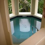 Private plunge pool