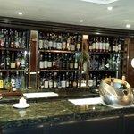 Belíssimo Bar onde também acontecem os cursos de whisky !
