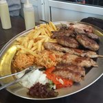Mixed grill for two!