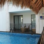 One of our swim-up suites