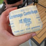 Antoinette purchased some fresh local butter for breakfast the next day!!