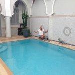 the pool - so nice..