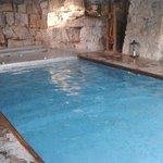 Piscina interna con idromassaggio (spa)