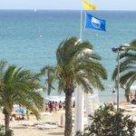 Голубой флаг Пляжа Постигет