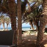 vue depuis le restaurant de la plage