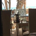 au restaurant de la plage