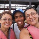 Another selfie with dancer Tiago
