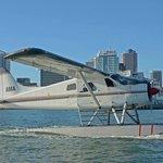 Seaplane in Auckland Harbour