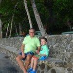 Yeyo y nieto David.
