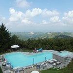 Blick aud das Piemont