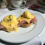 Eggs Benedict - large portion