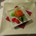 Degustación salmón