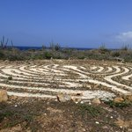 Set an intention and mindfully walk the peace labyrinth. . .