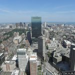 View to the east from Prudential Center/Skywalk Observatory