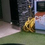 Komisches Kabel im Eingangsbereich