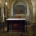 The oldest altar in the Netherlands.